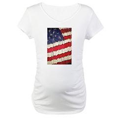 Abstract American Flag Shirt