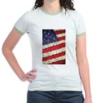 Abstract American Flag T-Shirt