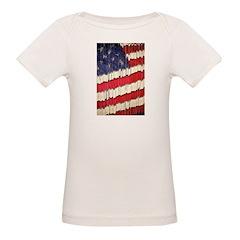 Abstract American Flag T-Shirt