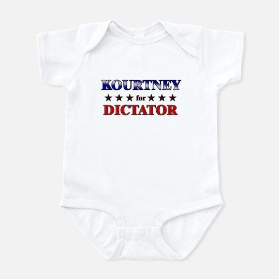 KOURTNEY for dictator Infant Bodysuit