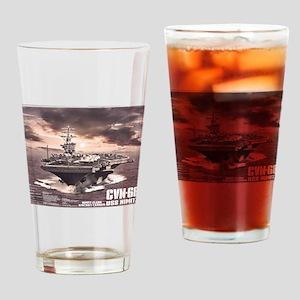 Aircraft carrier Nimitz Drinking Glass