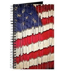 Abstract American Flag Journal