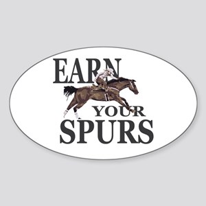 Earn Your Spurs Sticker