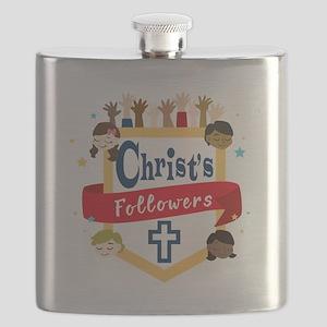 Christ's Followers Flask