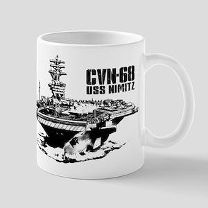 Aircraft carrier Nimitz Mugs