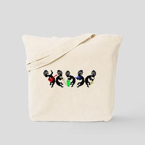 Kokopelli Band Tote Bag