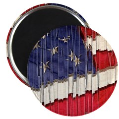Abstract American Flag Magnets