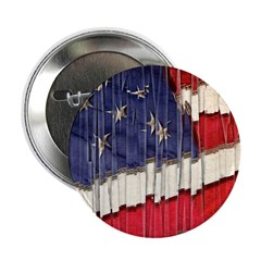 Abstract American Flag 2.25