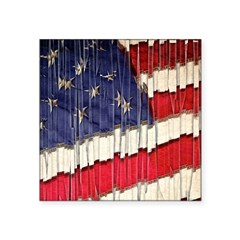 Abstract American Flag Sticker