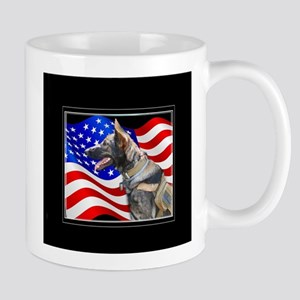 Veteran German Shepherd Dog Mugs