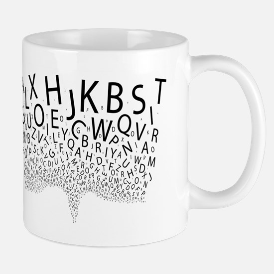 Spouting Letters Mugs