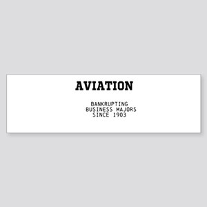 Aviation: bankrupting business majors since 1903 B