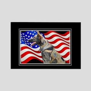 Veteran German Shepherd Dog Magnets