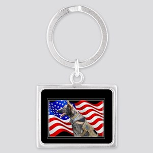 Veteran German Shepherd Dog Keychains