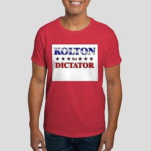 KOLTON for dictator Dark T-Shirt