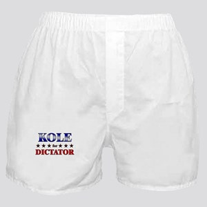 KOLE for dictator Boxer Shorts