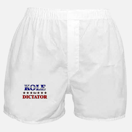 KOLE for dictator Boxer Shorts