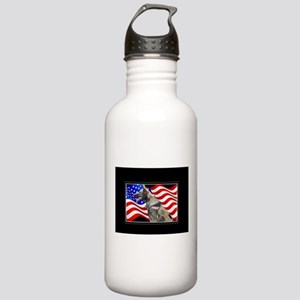 Veteran German Shepher Stainless Water Bottle 1.0L