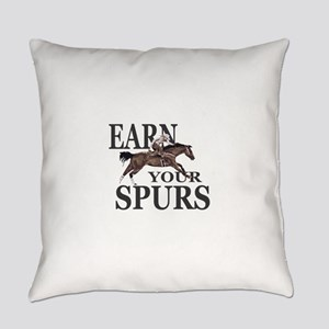 Earn Your Spurs Everyday Pillow
