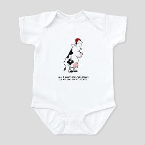 Two Front Teats Infant Bodysuit