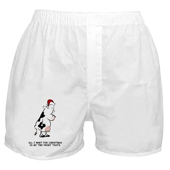 Two Front Teats Boxer Shorts
