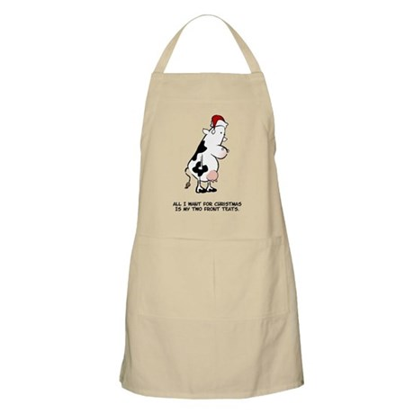 Two Front Teats BBQ Apron