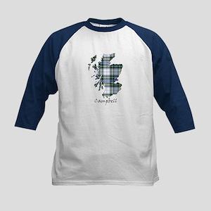 Map-Campbell dress Kids Baseball Jersey