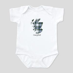 Map-Campbell dress Infant Bodysuit