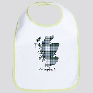 Map-Campbell dress Bib