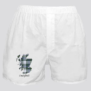 Map-Campbell dress Boxer Shorts