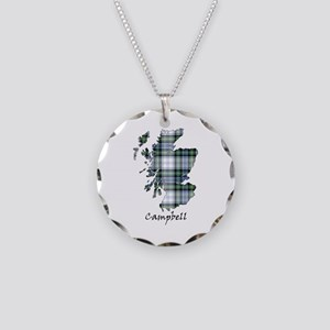 Map-Campbell dress Necklace Circle Charm