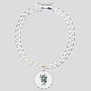 Map-Campbell dress Charm Bracelet, One Charm