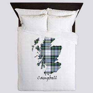 Map-Campbell dress Queen Duvet