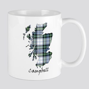 Map-Campbell dress Mug