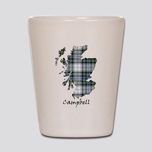 Map-Campbell dress Shot Glass