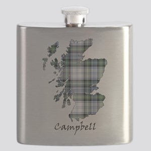 Map-Campbell dress Flask
