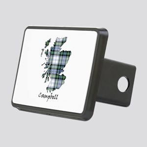 Map-Campbell dress Rectangular Hitch Cover