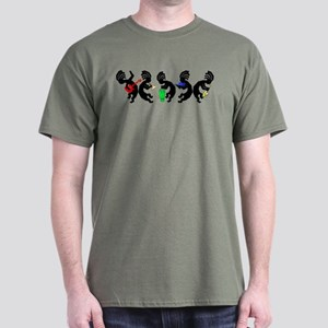 Kokopelli Band Dark T-Shirt