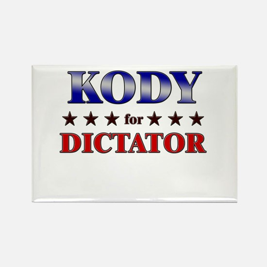 KODY for dictator Rectangle Magnet