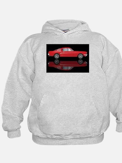 Very Fast Red Car Hoodie