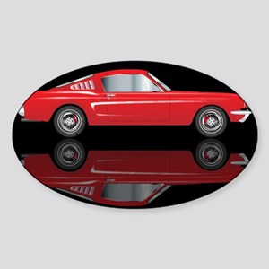 Muscle Car Illustrations Stickers Cafepress