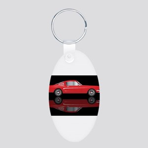 Very Fast Red Car Keychains
