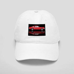 Very Fast Red Car Cap