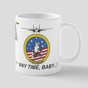 F-14 Tomcat Vf-1 Wolfpack Mugs