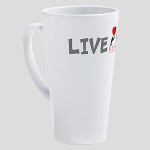 BKTY...LIVE KIND! 17 oz Latte Mug
