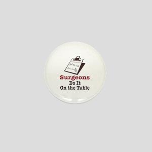 Funny Doctor Surgeon Mini Button