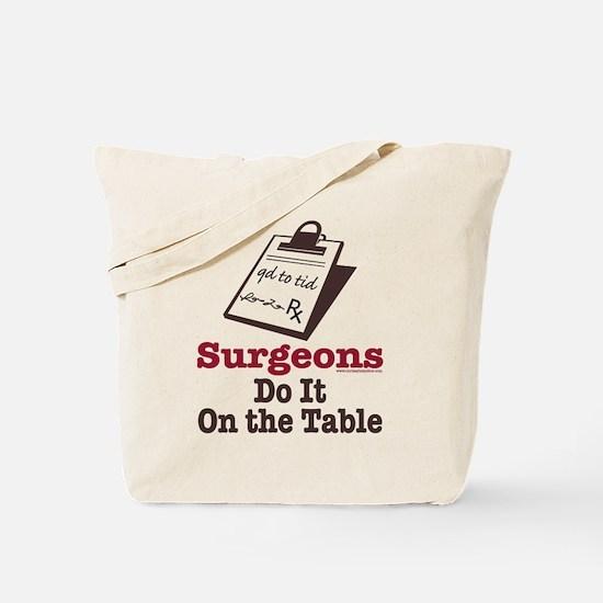 Funny Doctor Surgeon Tote Bag