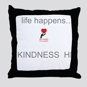 Bkty...life Happens! Throw Pillow