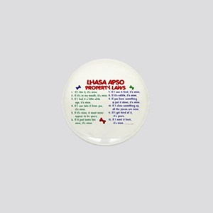 Lhasa Apso Property Laws 2 Mini Button