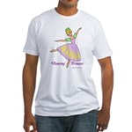 Dancing Princess Fitted T-Shirt
